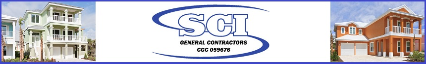 New Home Construction and SCI LOGO